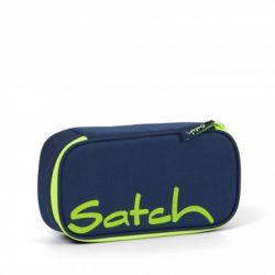 satch Pencil Box - dark blue, neon, yellow - Toxic Yellow