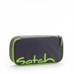 satch Pencil Box - grey, neon,  - Phantom