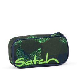 satch Pencil Box - blue, green, neon - Infra Green