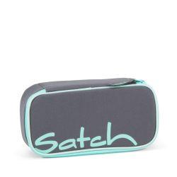 satch Pencil Box - grey, mint,  - Mint Phantom