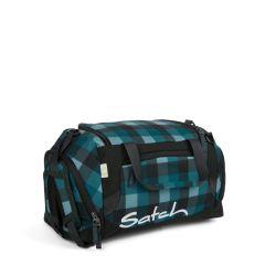 satch Duffle Bag - blue, grey - Blue Bytes