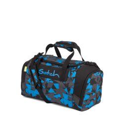 satch Duffle Bag - blue, black, grey - Blue Triangle