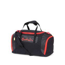 satch Duffle Bag, black, green, neon, Fire Phantom