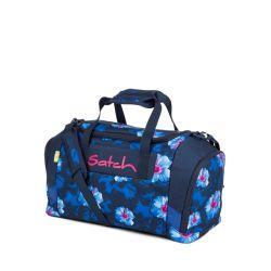 satch Duffle Bag - blue, pink, white - Waikiki Blue