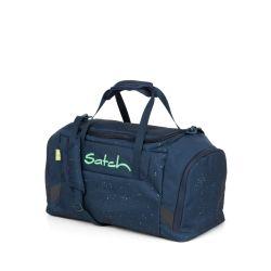 satch Duffle Bag - dark blue, green,  - Space Race