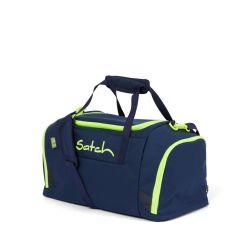 satch Duffle Bag - dark blue, neon, yellow - Toxic Yellow