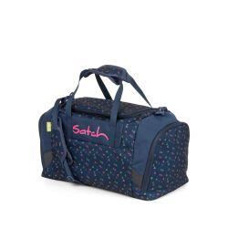 satch Duffle Bag - dark blue, pink, yellow - Funky Friday