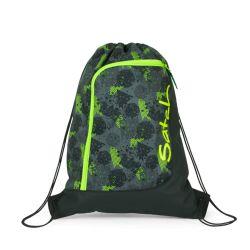 satch Gym Bag, black, green, neon, Off Road
