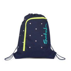 satch Gym Bag - blue, yellow, peach - Pretty Confetti