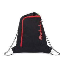 satch Gym Bag, black, green, neon, Fire Phantom