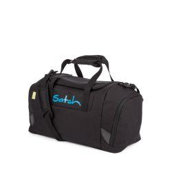 satch Duffle Bag - black, blue - Black Bounce