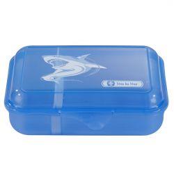Lunchbox Angry Shark, Blau