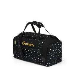 satch Duffle Bag, black, white, yellow, Lazy Daisy