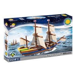 Cobi Pilgrim Ship Mayflower 21077