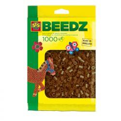 Bügelperlen 1000 Stück dunkelbraun