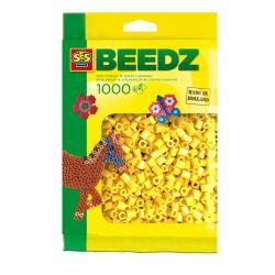 Bügelperlen 1000 Stück gelb
