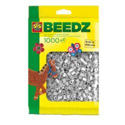 Bügelperlen 1000 Stück grau