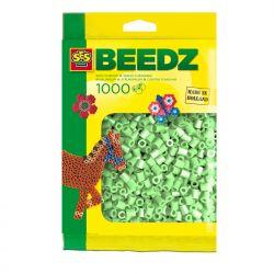 Bügelperlen 1000 Stück minzgrün