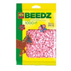 Bügelperlen 1000 Stück perlmutrosa