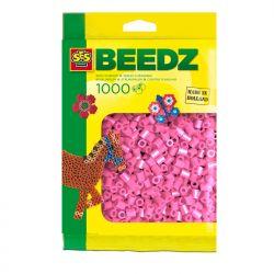 Bügelperlen 1000 Stück rosa