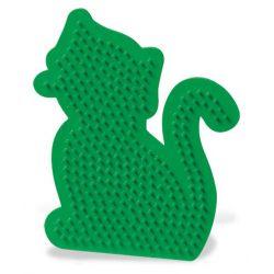 Bügelperlen Stiftplatte Katze