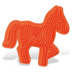 Bügelperlen Stiftplatte Pferd
