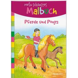 Mein schönstes Malbuch. Pferd