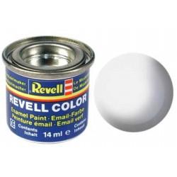 Revell - weiß, seidenmatt RAL 9010 - 14ml-Dose