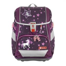 2IN1 PLUS Schulranzen-Set Unicorn, 6-teilig