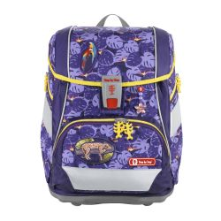 2IN1 PLUS Schulranzen-Set Jungle Cat, 6-teilig