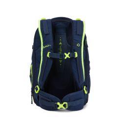 satch match - dark blue, neon, yellow - Toxic Yellow