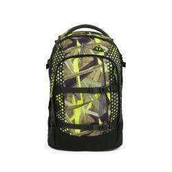 satch pack - yellow, green, black - Jungle Lazer