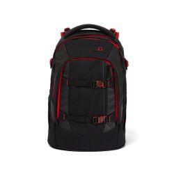 satch pack - black, red,  - Fire Phantom