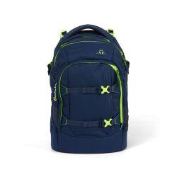 satch pack - dark blue, neon, yellow - Toxic Yellow