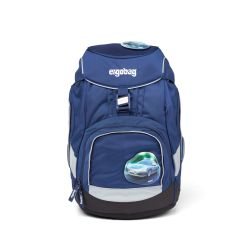 ergobag pack Schulrucksack-Set BlauchlichtBär