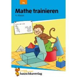 Hauschka Verlag - Mathe trainieren 4. Klasse, A5- Heft