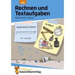 Hauschka Verlag - Rechnen und Textaufgaben - Realschule 5. Klasse, A5- Heft