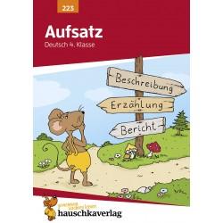 Hauschka Verlag - Aufsatz Deutsch 4. Klasse, A5- Heft