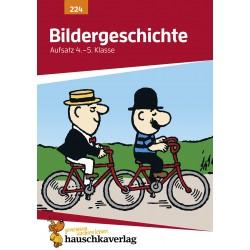Hauschka Verlag - Bildergeschichte. Aufsatz 4./5. Klasse, A5- Heft