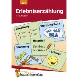 Hauschka Verlag - Erlebniserzählung. Aufsatz 4./5. Klasse, A5- Heft