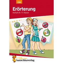 Hauschka Verlag - Erörterung. Aufsatz 8.-11. Klasse, A5- Heft