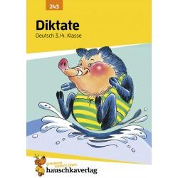 Hauschka Verlag - Diktate 3./4. Klasse, A5- Heft
