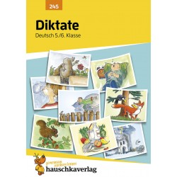 Hauschka Verlag - Diktate 5./6. Klasse, A5- Heft