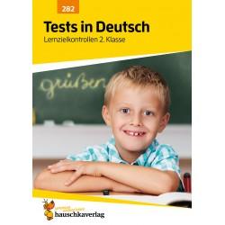 Hauschka Verlag - Tests in Deutsch - Lernzielkontrollen 2. Klasse, A4- Heft