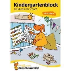 Hauschka Verlag - Kindergartenblock - Das kann ich schon! ab 4 Jahre, A5-Block