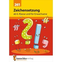 Hauschka Verlag - Zeichensetzung ab 6. Klasse und für Erwachsene, A5- Heft