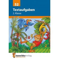 Hauschka Verlag - Textaufgaben 2. Klasse, A5- Heft