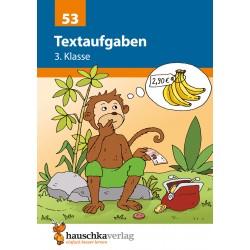 Hauschka Verlag - Textaufgaben 3. Klasse, A5- Heft
