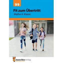 Hauschka Verlag - Fit zum Übertritt - Mathe 4. Klasse, A4- Heft