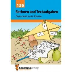 Hauschka Verlag - Rechnen und Textaufgaben - Gymnasium 6. Klasse, A5- Heft